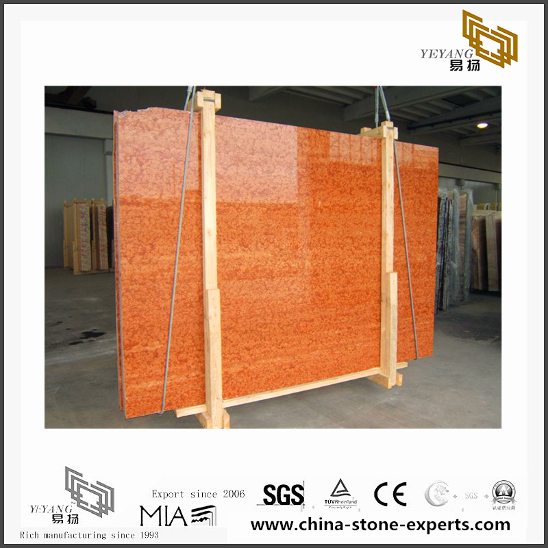 Red Rosso Verona marble for shakedown, metope adornment(YQN-090808)