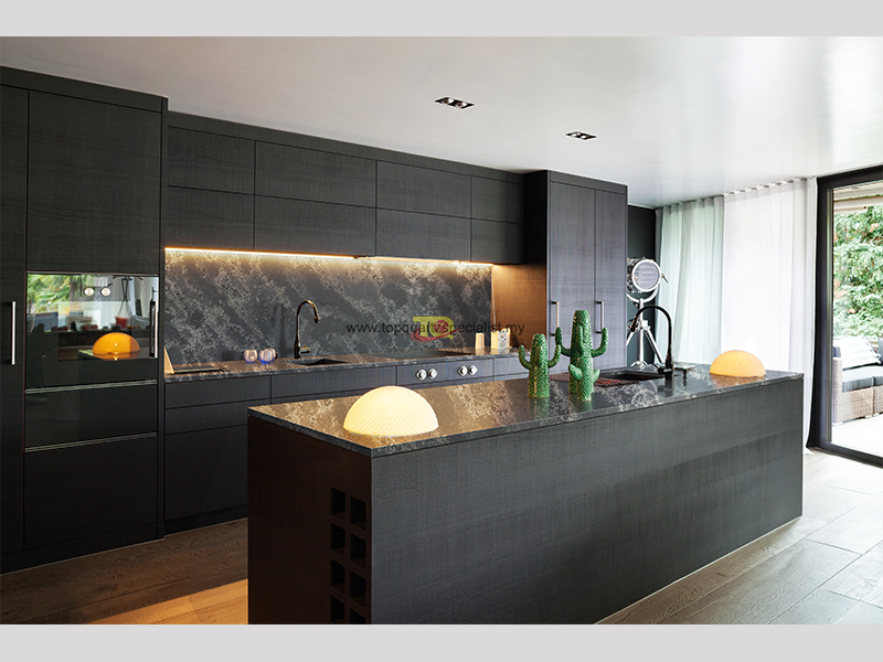 Recommendations for the use of Black Marble Kitchen Countertops