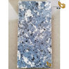 Blue quartz luxury granite vein quartz tiles solid surface vanity tops wholesale