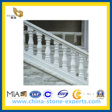 White Stone Granite Stair Railing for Staircase(YQG-PV1077)