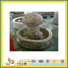 Beige Color Fountain with Mushroom Shape (YQA)