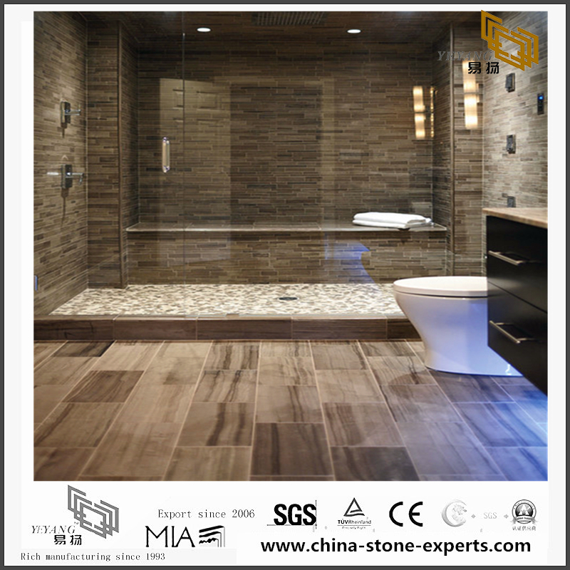 Athens Grey Marble for the bathroom decoration(YQN-093001)
