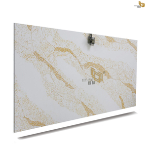 Brands Calacatta Gold Quartz Kitchen Countertops White Quartz Bathroom Vanity Tops Company & Manufacturers