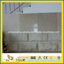 G682 Rusty Yellow Granite Mushroom Tile for Exterior Wall Building