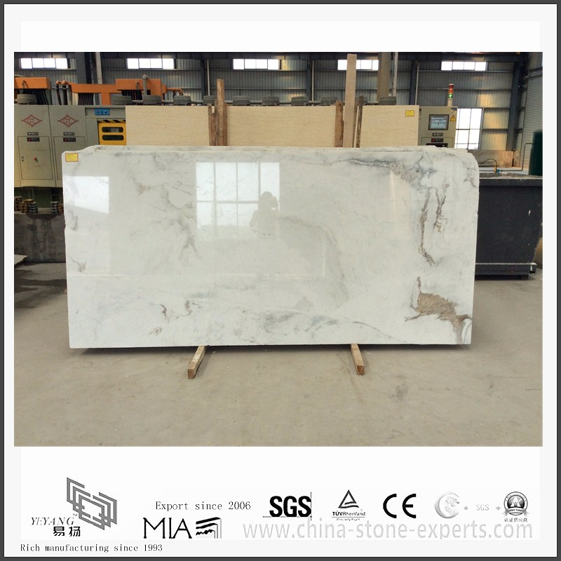 Diy New Arrival Arabescato Venato White Marble for Bathroom Floor Tiles (YQW-MSA051304)