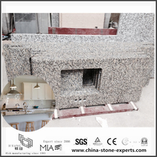 Buy Discount Beautiful Bianco Taupe White Granite Countertops for Kitchen and Bathroom Home Decoration (YQW-GC052401)