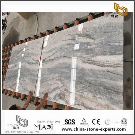 Beautiful Vemont Grey Marble Stone for Wall Backgrounds & Floor Tiles (YQW-MS090701)