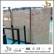 Luxury New Rose Cream Marble Slabs for Bathroom Decoration(YQN-092611)