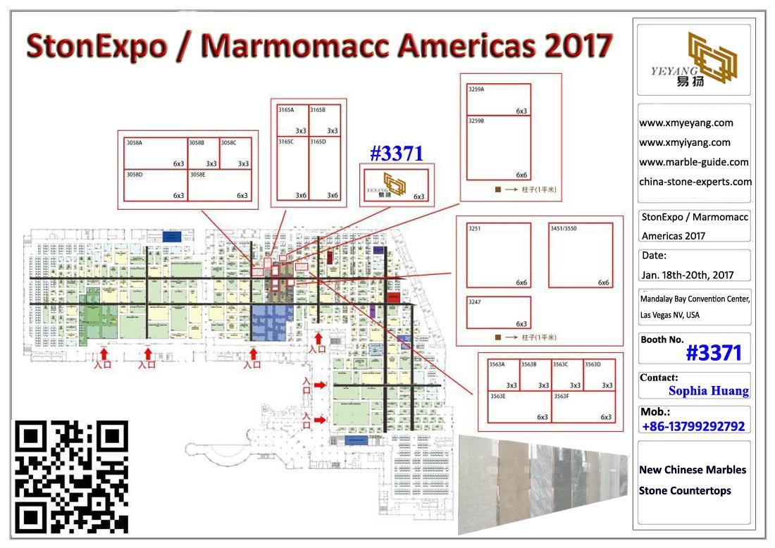 StonExpo Las Vegas Marmomacc Americas 2017 01