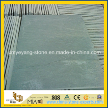 Natural Green Slate for Floor Tile or Wall Cladding