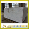China Polished Castro White Marble Slab with Best Price for Countertop & Vanity top (YQW)