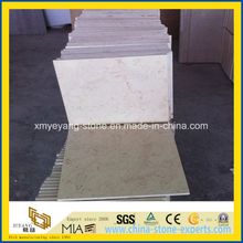 Galala Beige Marble Floor Tile for Interior Decoration