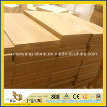 Natural Yellow Sandstone Wall or Floor Tile for Landscape Design