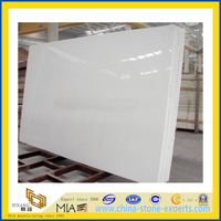 White Artificial Marble Slab for Kictchen, Bathroom (YQC)