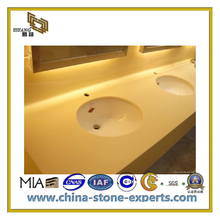 Artificial Quartz Stone Countertops for Kitchen and Bathroom(YQC-ASQ1007)