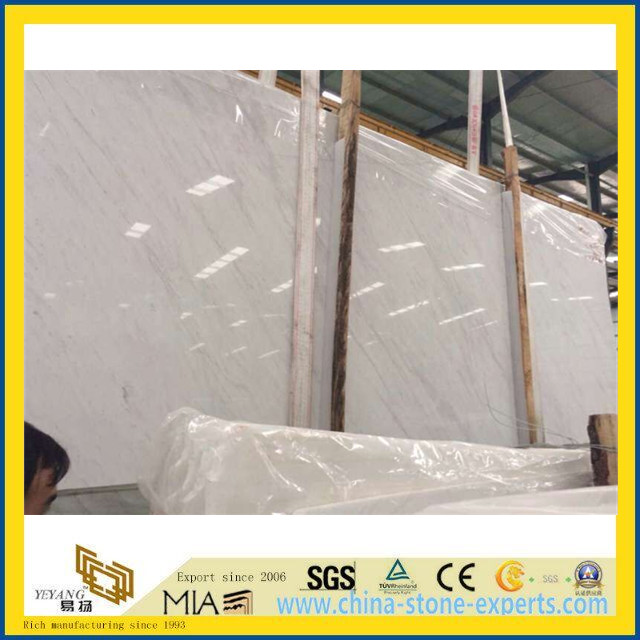 Ariston Kalliston White Stone Marble Slab for Building, Project (YYT)