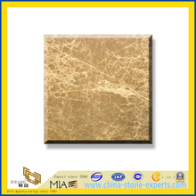 Polished Natural Stone Light Emperador Marble Slabs for Wall/Flooring (YQC)