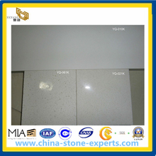 Engineered Stone-Pure White Quartz Stone for Vanitytop, Countertop, Tile (YY-VPWQ)