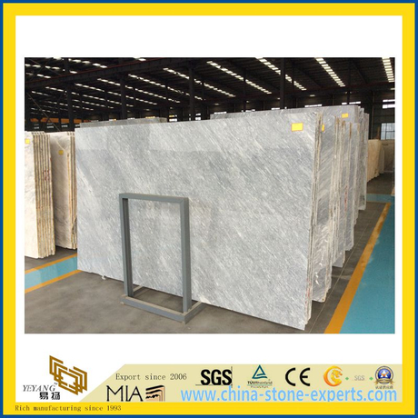 Rome Ice Grey Marble Slabs for Countertop, Flooring, Wall Decoration