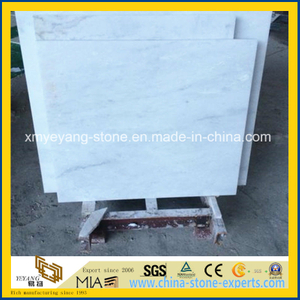 Castro White Marble Flooring for Bathroom Decoration