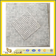 Carrarra White Marble Mosaic for Indoor Decoration