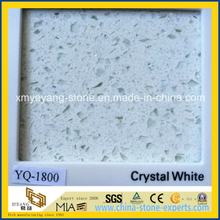 Crystal White Quartz Tile / Silestone Tile for Wall or Floor