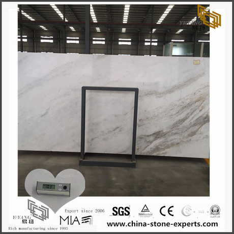 Custom White Arabescato Venato Marble for Bathroom,Kitchen Countertop (YQW-MSA0706016)