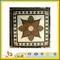 Honed Marble Onyx Medallion for Flooring Decoration (UYQZ-M)