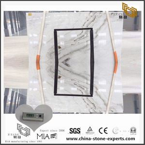 Discount Arabescato Venato White Marble for Kitchen Countertop (YQW-MSA0706011)