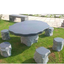 Natural Grey Granite Stone Tabletop for Landscape(YQG-LS1003)