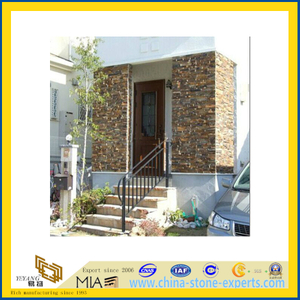 Rusty Natural Stacked Stone Tile for Wall Decoration (YQA-S1060)