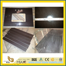 Good Sale Dark Chocolate Quartz Stone Countertops for Kitchen/Bathroom