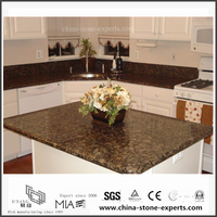 Natural Baltic Brown Granite Countertop for Kitchen,Hotel (YQW-GC06051911)