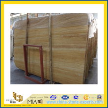 Beige Travertine Slab for Flooring Decoration