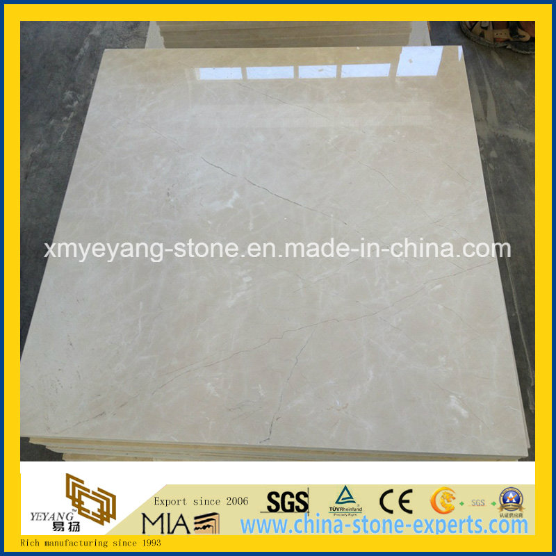 Natural Burdur Beige Marble Tile for Hotel Floor or Wall