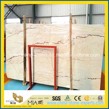 Sofitel Gold Marble Slab for Interior Flooring or Wall Tile