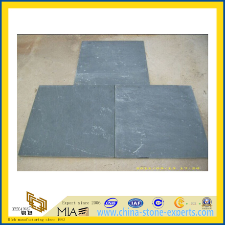 Black Slate Tile for Floor and Wall (YQA-S1004)