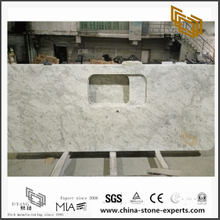 Popular Andromeda White Granite Counter tops for Bathroom Design (YQW-GC071409)