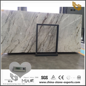 Hot Selling White Arabescato Venato Marble for Kitchen Countertop (YQW-MSA0706014)