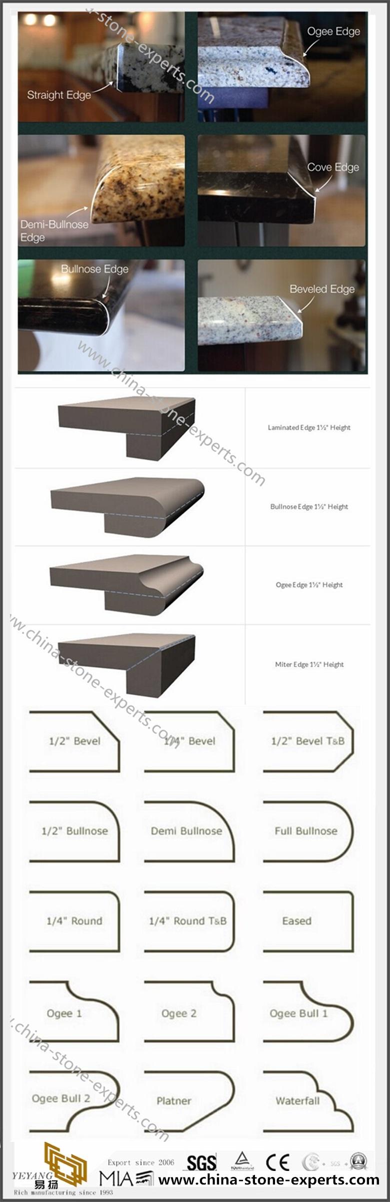 Countertops EDGE-PROFILE
