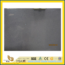 Crystal Light Grey Quartz Stone Slab for Indoor Decoration