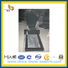 European Designs Granite Tombstone / Headstone (YQZ-MN)