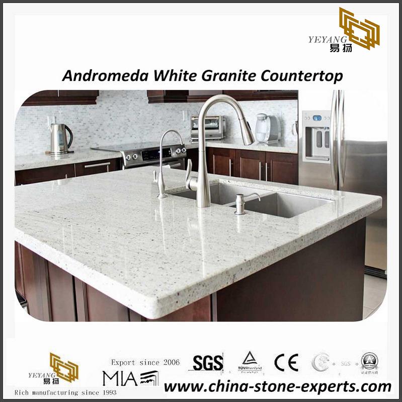 Por Andromeda White Granite Kitchen