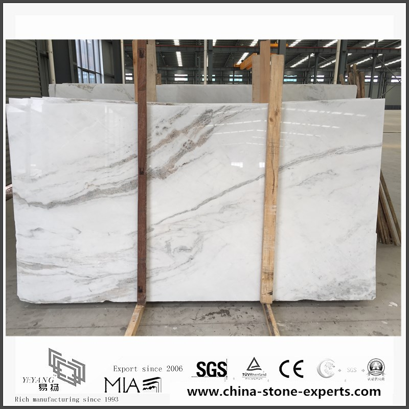 New Exclusive Castro White Marble Slabs